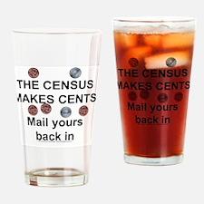 census Drinking Glass