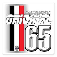 "original65 Square Car Magnet 3"" x 3"""