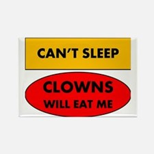 2-clowns Rectangle Magnet