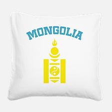 mongoliaEN Square Canvas Pillow