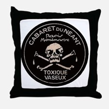 cabaretdeath2 Throw Pillow