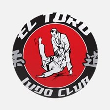 El Toro Judo Logo Round Ornament