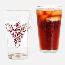 Dragon-Tribal-Tattoo222 Drinking Glass