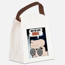 2-chika_grill Canvas Lunch Bag