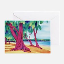 beach sentinels Greeting Card