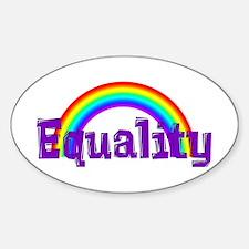 Equality Rainbow Decal