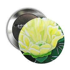 """Cactus Flower 2.25"""" Button"""