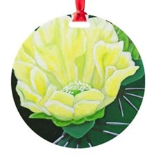 Cactus Flower Ornament