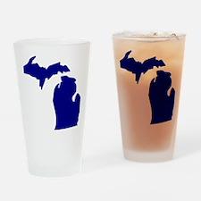 us_michigan Drinking Glass