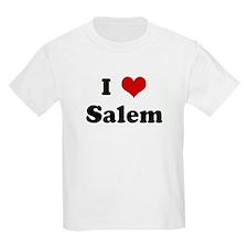 I Love Salem Kids T-Shirt