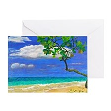 Seagrapes Greeting Card