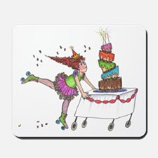 Birthday girl Mousepad