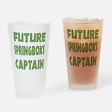 Future Springbok Captain Drinking Glass