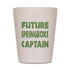 Future Springbok Captain Shot Glass