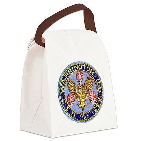 warrington patch Canvas Lunch Bag