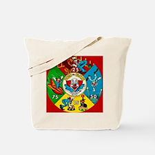 Circus Clown Cartoon Comic Book Art Tote Bag