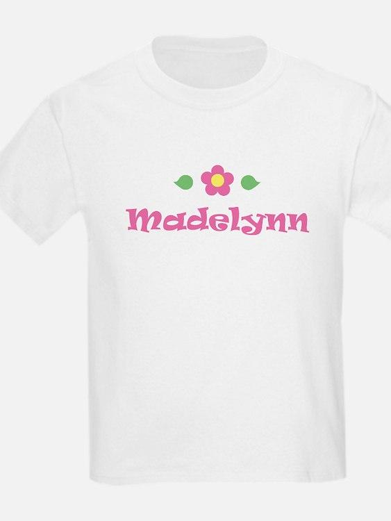 """Pink Daisy - """"Madelynn"""" Kids T-Shirt"""