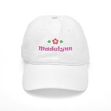 "Pink Daisy - ""Madelynn"" Baseball Cap"