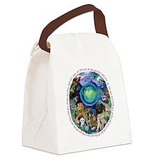 Eco Planet Animal RainForest Canvas Lunch Bag