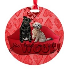 You_Had_Me_At_Woof5x7 Ornament