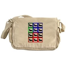Pembroke Welsh Corgi Pattern Messenger Bag