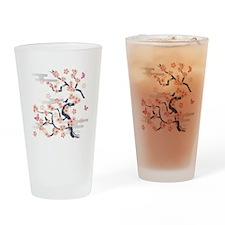 JAPANESE Blossom Drinking Glass