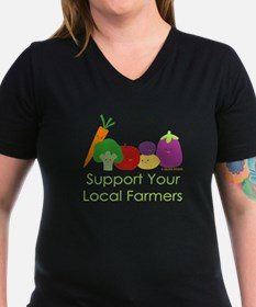 """""""Support Your Local Farmers"""" Shirt"""