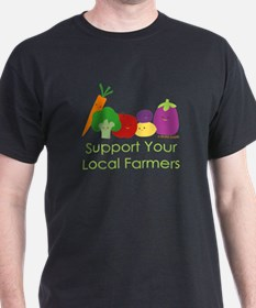 """Support Your Local Farmers"" T-Shirt"