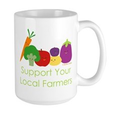 """Support Your Local Farmers"" Mug"
