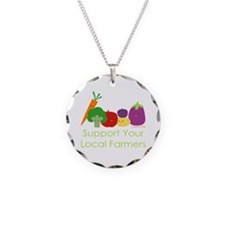 """""""Support Your Local Farmers"""" Necklace"""