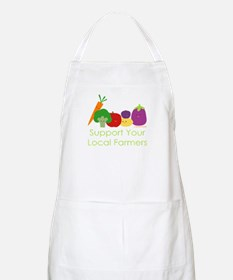 """Support Your Local Farmers"" Apron"