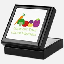 """Support Your Local Farmers"" Keepsake Box"