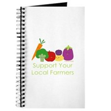 """Support Your Local Farmers"" Journal"