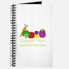 """""""Support Your Local Farmers"""" Journal"""