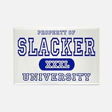 Slacker University Rectangle Magnet