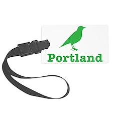 Grn Portland Bird Luggage Tag