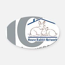 HRN_Logo_10 Oval Car Magnet