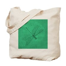 fossil_dragonfly_green Tote Bag