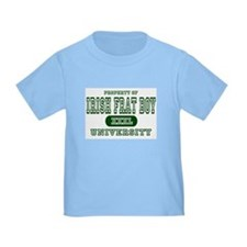 Irish Frat Boy University T