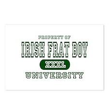 Irish Frat Boy University Postcards (Package of 8)