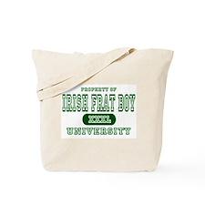 Irish Frat Boy University Tote Bag