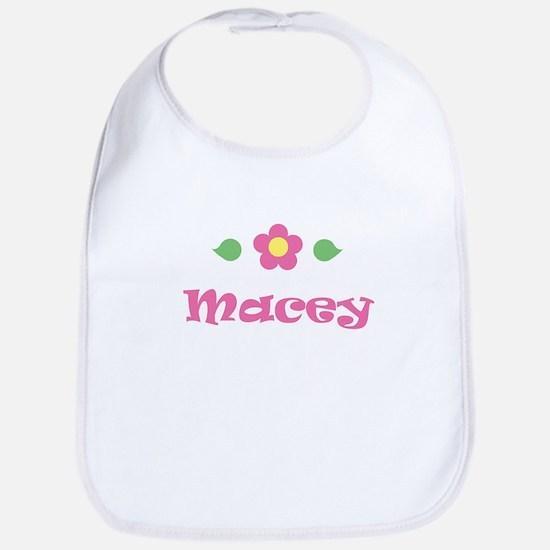 """Pink Daisy - """"Macey"""" Bib"""