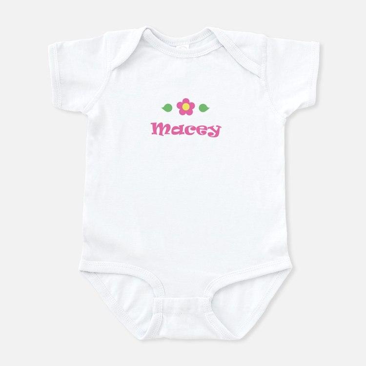 "Pink Daisy - ""Macey"" Infant Bodysuit"