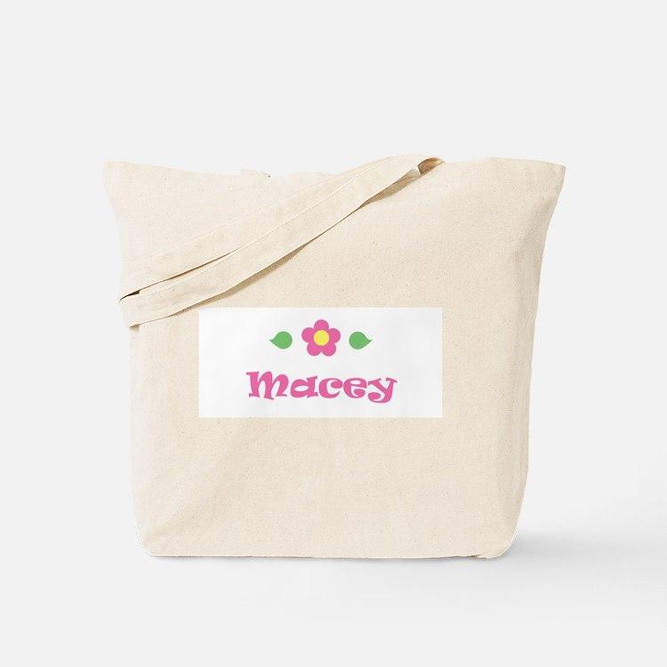 """Pink Daisy - """"Macey"""" Tote Bag"""