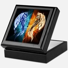 Dragons - Fire And Ice Keepsake Box