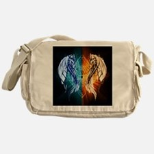 Dragons - Fire And Ice Messenger Bag