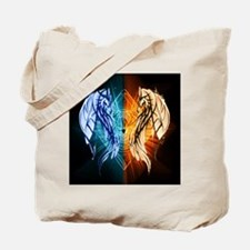 Dragons - Fire And Ice Tote Bag