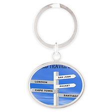 WT 2011 Oval Keychain