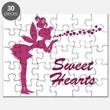 Fantasy Fairy Heart Kisses Puzzle