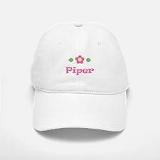 "Pink Daisy - ""Piper"" Baseball Baseball Cap"